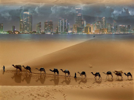 Marco Polo Trail On Silk Road China
